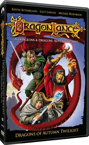 DRAGONLANCE BY SUTHERLAND,KIEFER (DVD)